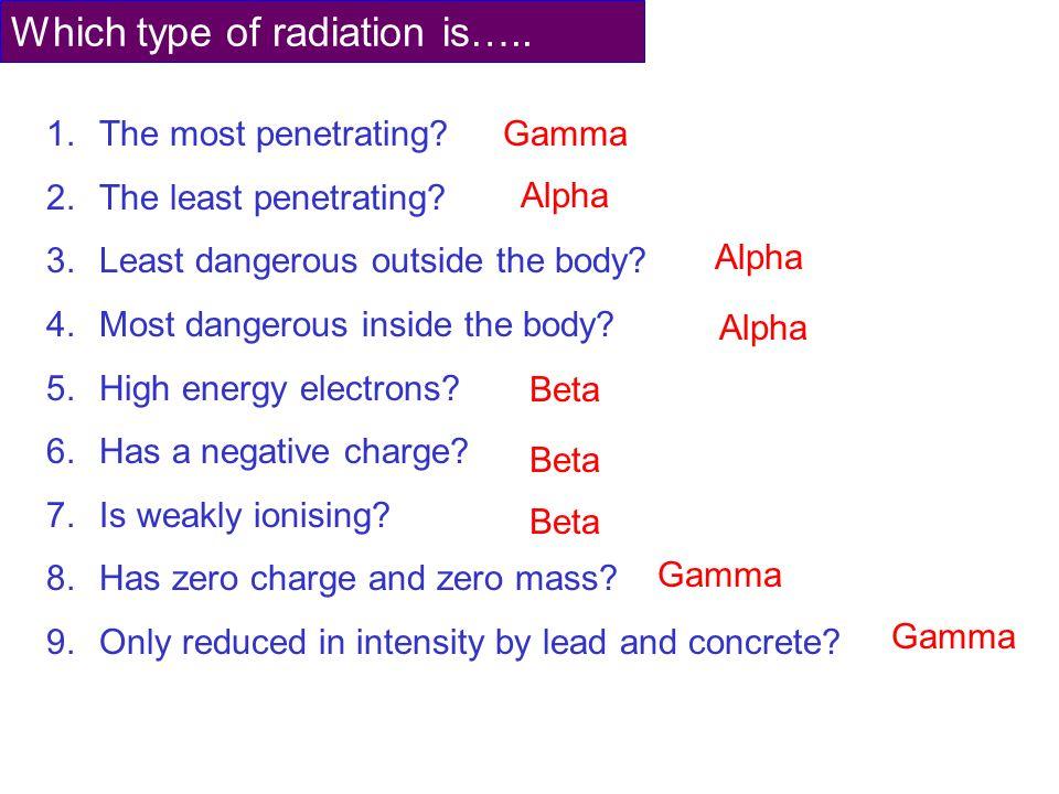 Radiation True or False? - ppt video online download