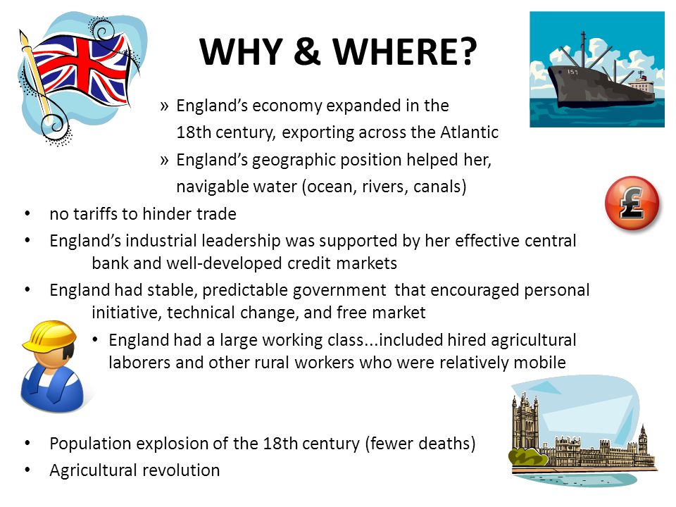 WHY & WHERE England's economy expanded in the