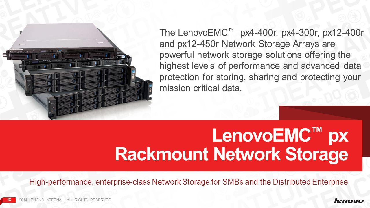 LenovoEMC™ Network Storage Family Overview - ppt download