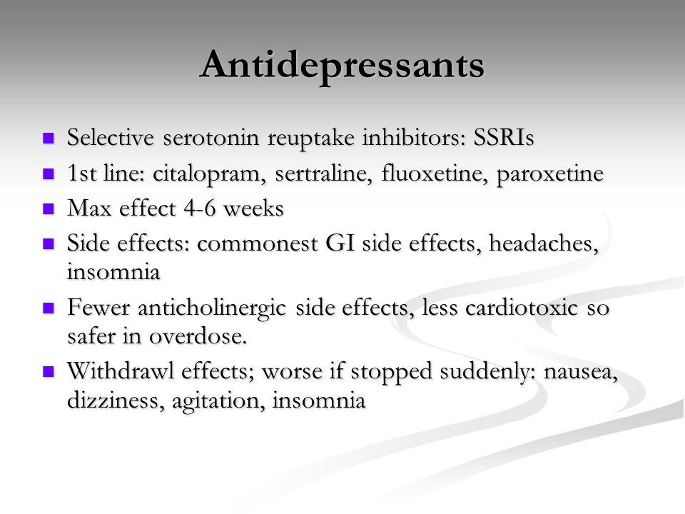 Celexa Side Effects Insomnia