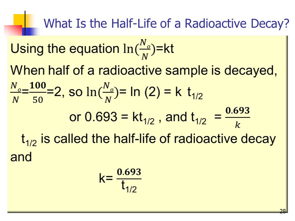 The meaning of radioactive dating