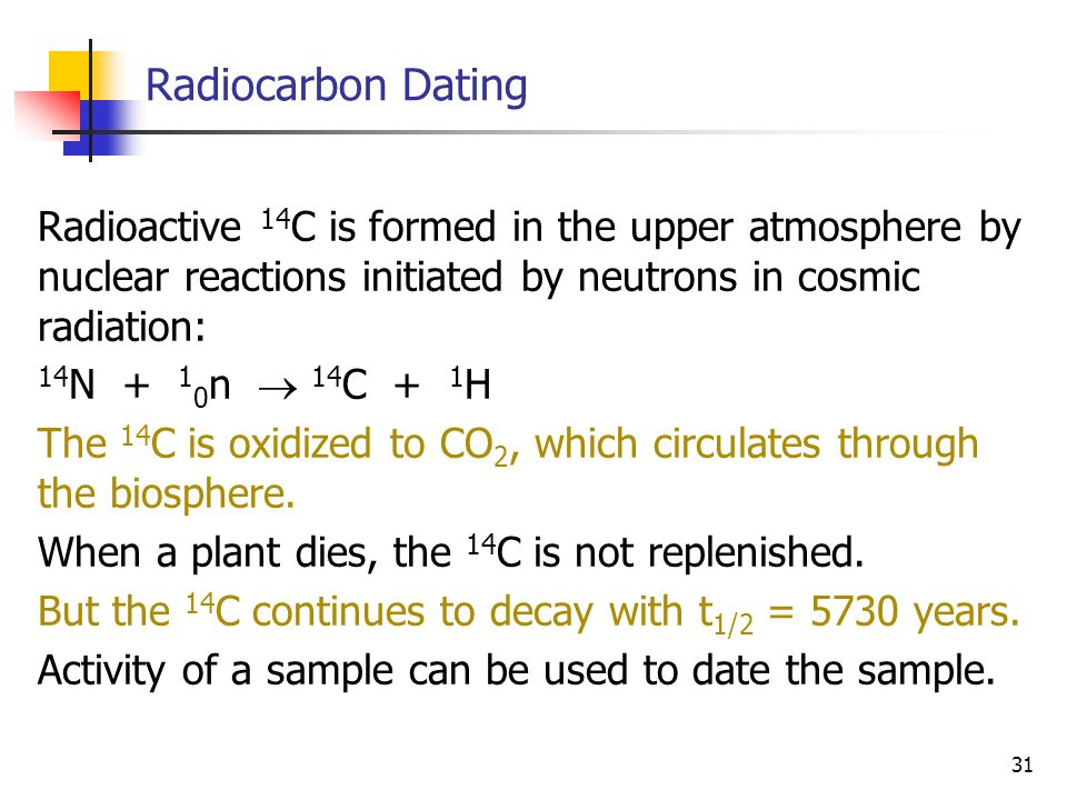 radiocarbon dating exercise 82 name:_____ lab exercise 7 radiocarbon dating, occupation patterns and site formation processes objectives the objective of this lab is to reinforce the concepts and approaches to.