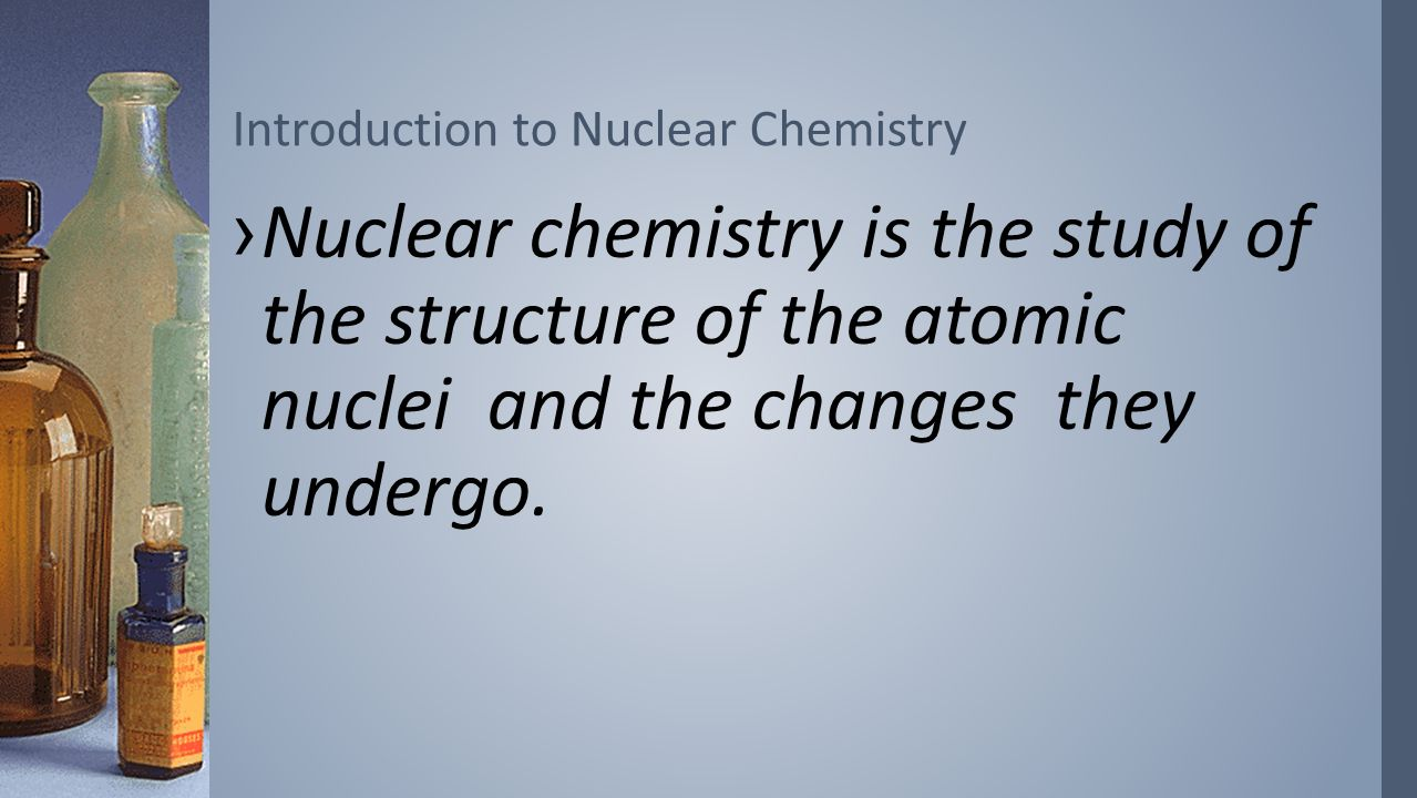 an introduction to the analysis of the nuclear atom