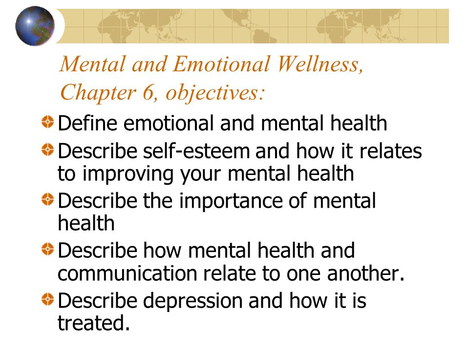 emotional improvement of the mental self Emotional health is an important part of overall health people can take steps to  improve their emotional health and be happier.