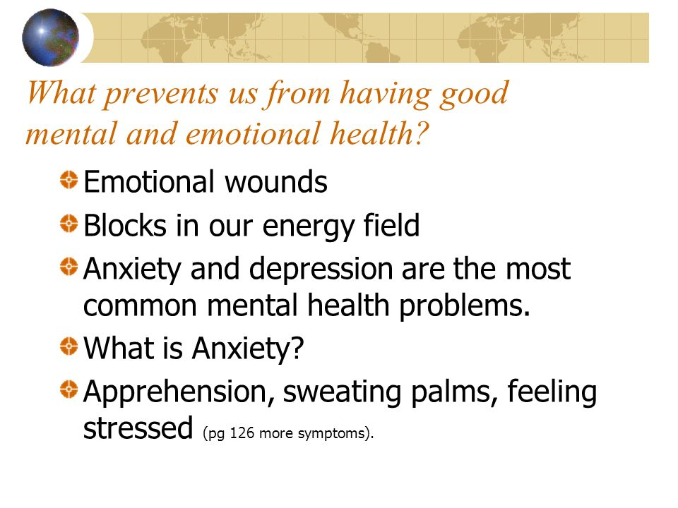 depression which is the common cold of the mental health problems Evidence-based recommendations on the care and treatment of common mental health problems (such as depression and anxiety disorder) in adults.