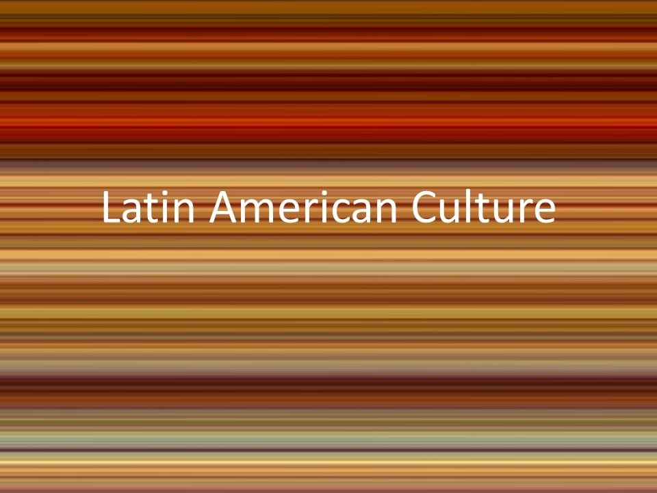 dating in latin american culture