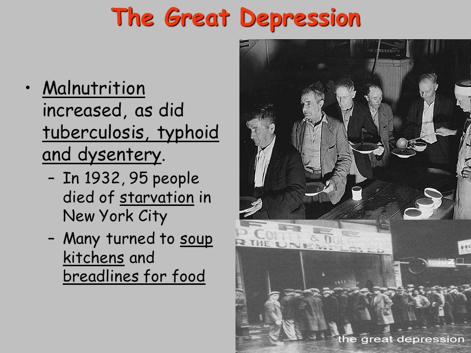 What Did Soup Kitchens Provide During The Great Depression