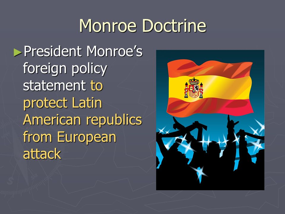 monroe doctrine and us latin america relations According to the monroe doctrine,  with tillerson in latin america, monroe is  overview of the historical links between the united states and latin america.