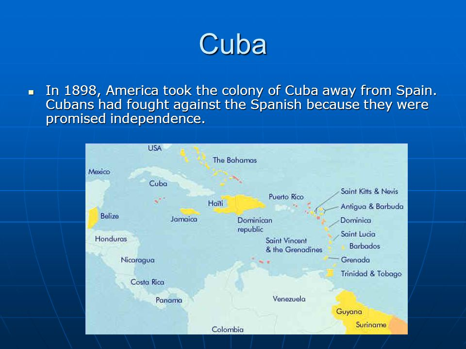 the fought for independence of cuba Cuba's first record of slavery  today in latino history: slavery abolished in cuba  after the 10 years' war for independence, slaves who fought for.