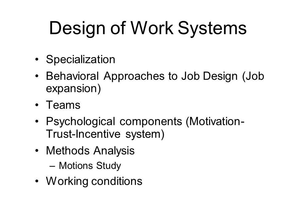 components of job design Identify the five components of job design the five components of job design from isds 3115 at lsu.