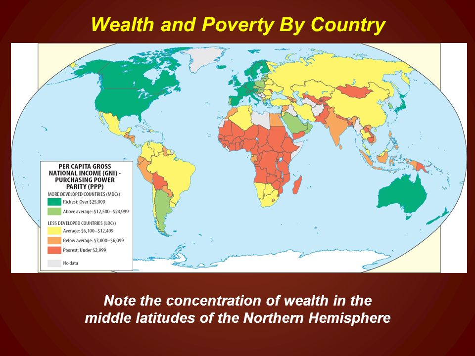 World Regional Geography Ppt Video Online Download - Poverty per country