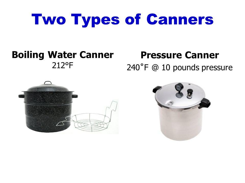 boiling water baths