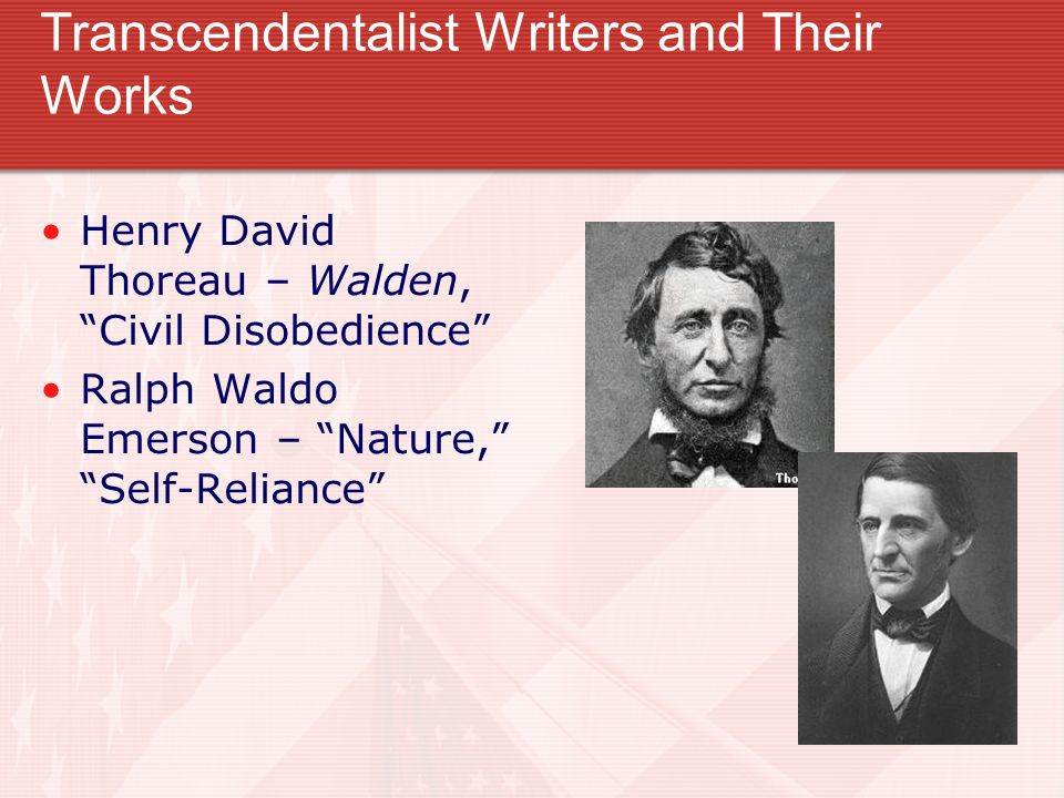 Comparing Edgar Allan Poe and Henry David Thoreau