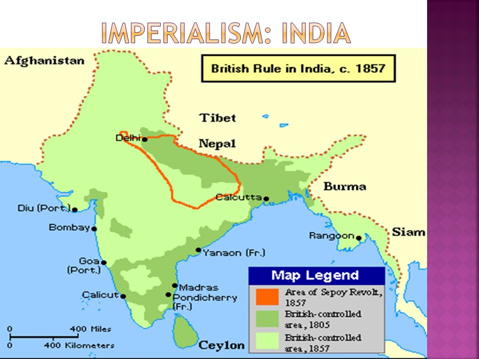 imperialism in india and china Slides for class: imperialism in china, india, africa and the  'egomaniac on the loose' imperialism: two goals economic penetration diplomatic coercion  – a.