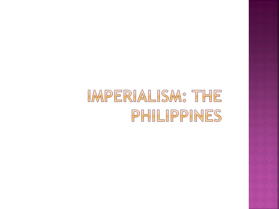 filipino reaction against colonization And american citizenship for the filipinos the present attitude of the american  people toward affairs of a colonial character seems to be the logical reaction.