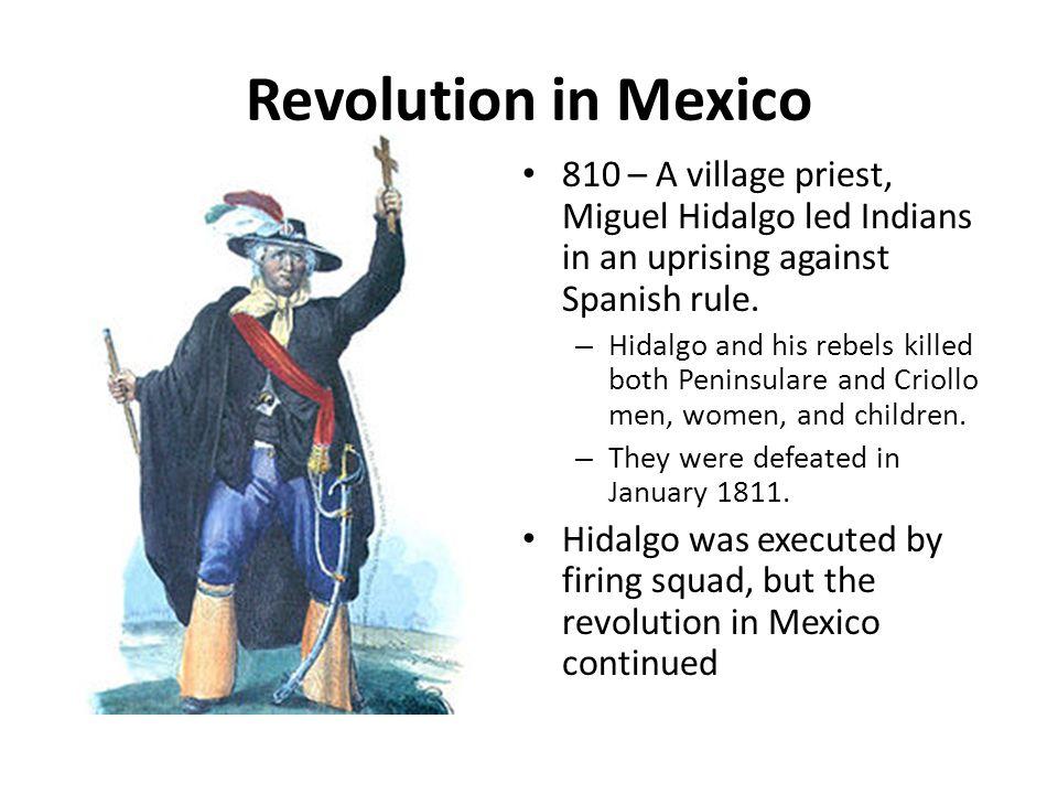 mexican revolution analysis While in prison he wrote la revolución interrumpida, mexico, 1910-1920: una guerra campesina por la tierra y el poder (1971), a marxist analysis of the mexican revolution that had an enormous impact on the subject in mexico.