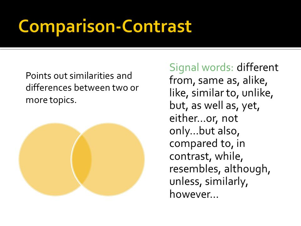 a comparison contrast essay between reggae This handout will help you determine if an assignment is asking for comparing and contrasting  there are many different ways to organize a comparison/contrast essay.