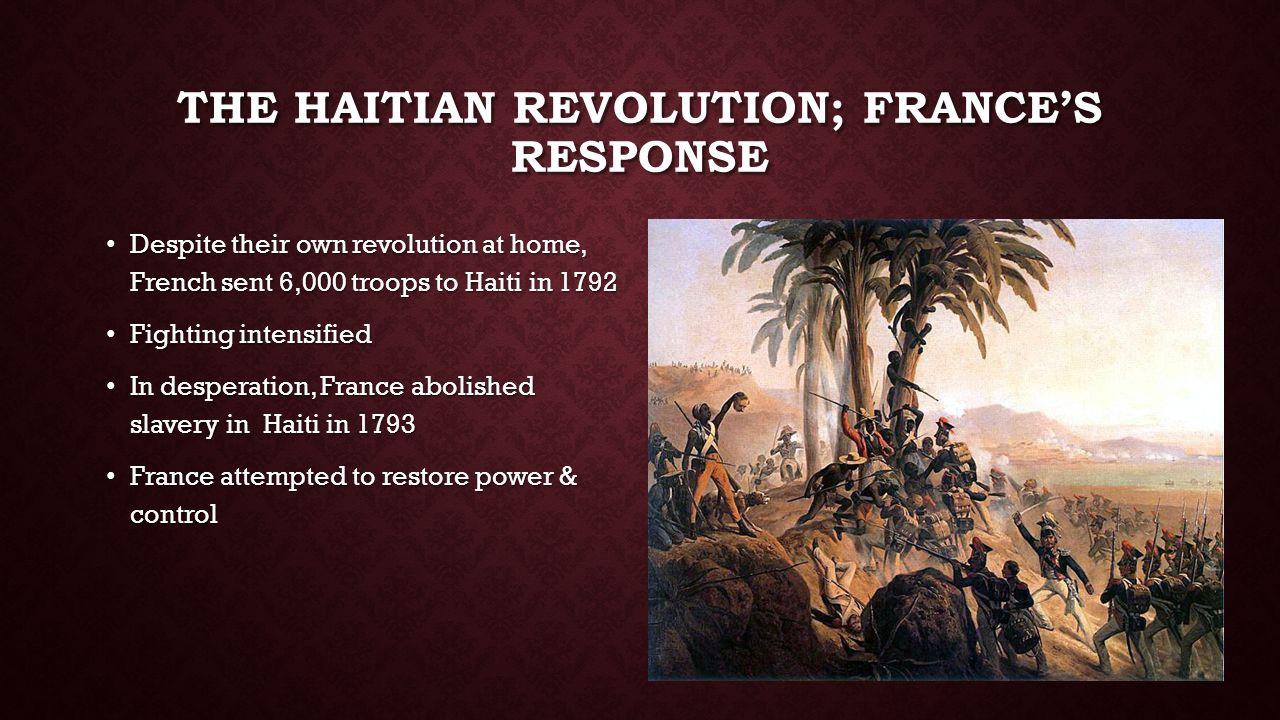 american vs hatian revolution The haitian revolution, was a successful anti-slavery and anti-colonial  it  impacted the institution of slavery throughout the americas.