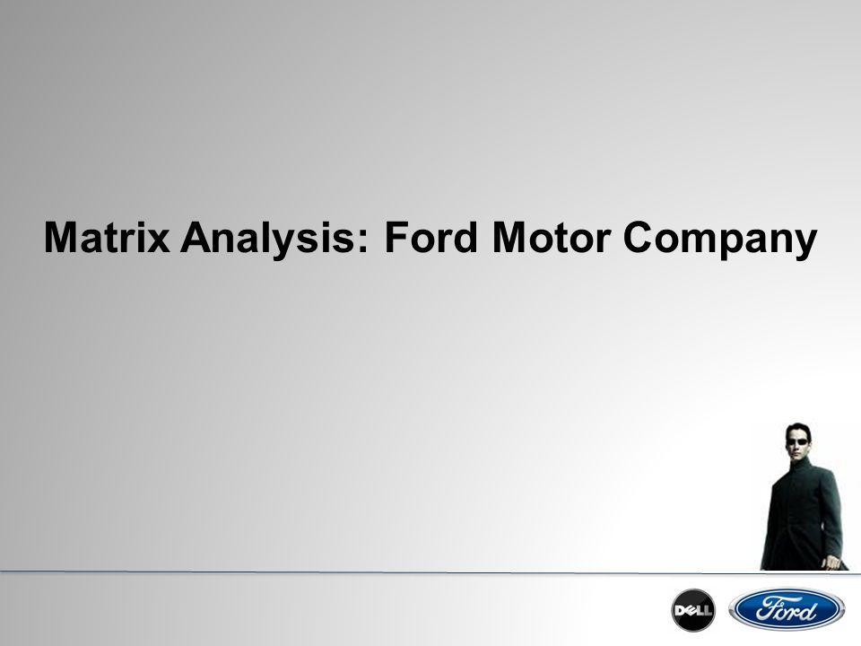 Ford Motor Co.: Supply Chain Strategy Harvard Case Solution & Analysis