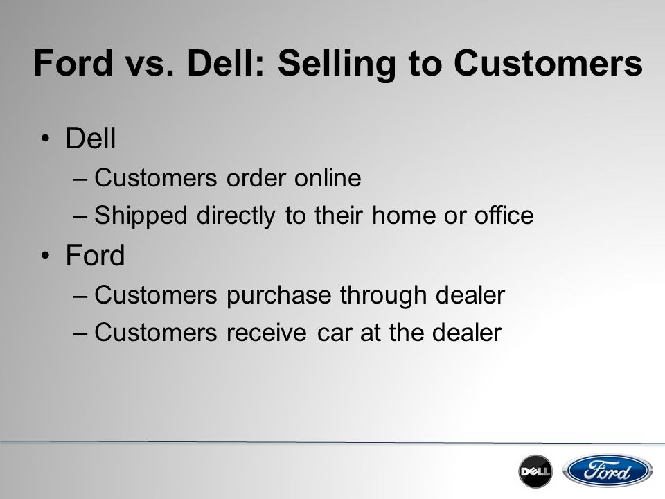 Ford motor company supply chain strategy ppt video for Ford motor company customer service