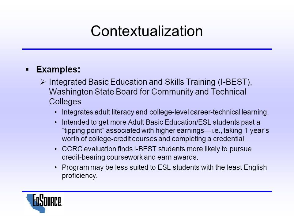contextualization essay How to contextualize in an essay while in college, students are usually used to writing essays it is often on rare occasions they can be given an already written article and asked to contextualize it.