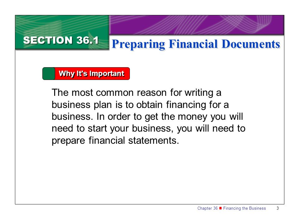 how to prepare a restaurant business plan financial section