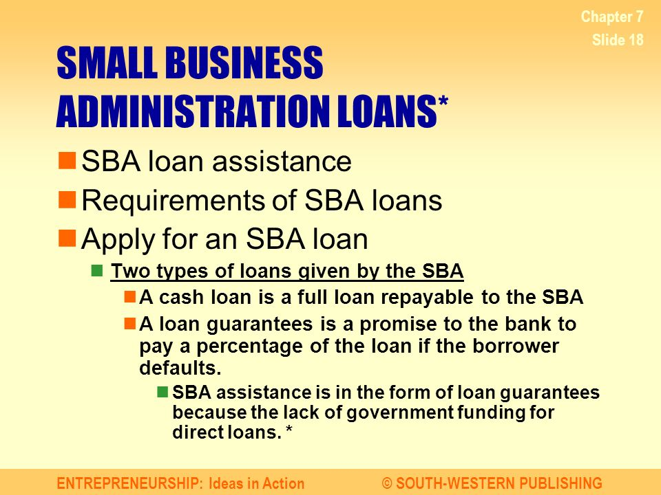 small business administration backed small business loans Us bank loans money to thousands of small businesses with financing solutions guaranteed by the us small business administration (sba.