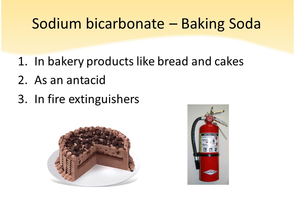 Sodium bicarbonate – Baking Soda