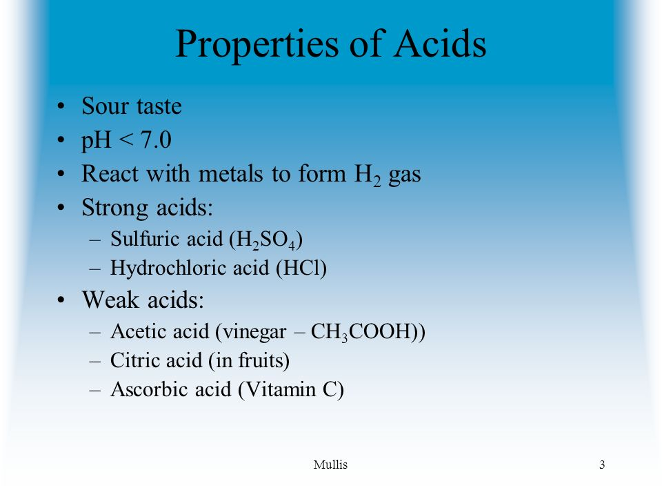 Acids, Bases and Salts Acids give up hydrogen ions (H+) in a water ...