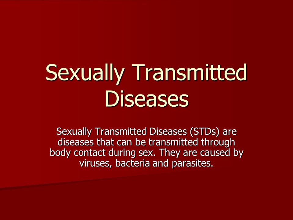 Can stds be spread through oral sex