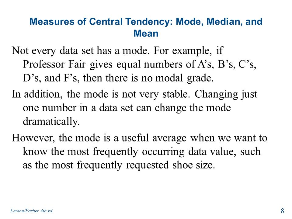measures of central tendency mean median and mode pdf