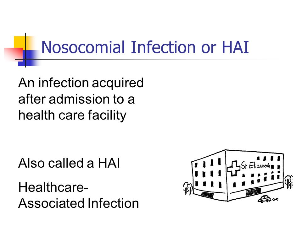 Nosocomial Infection or HAI