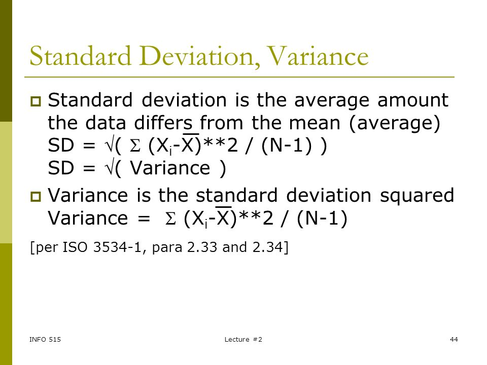 how to report mean and standard deviation