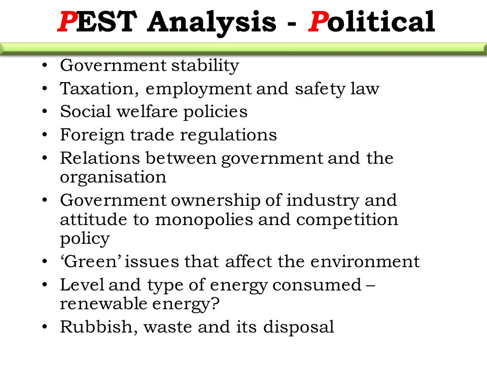 pest analysis of tourism industry in usa