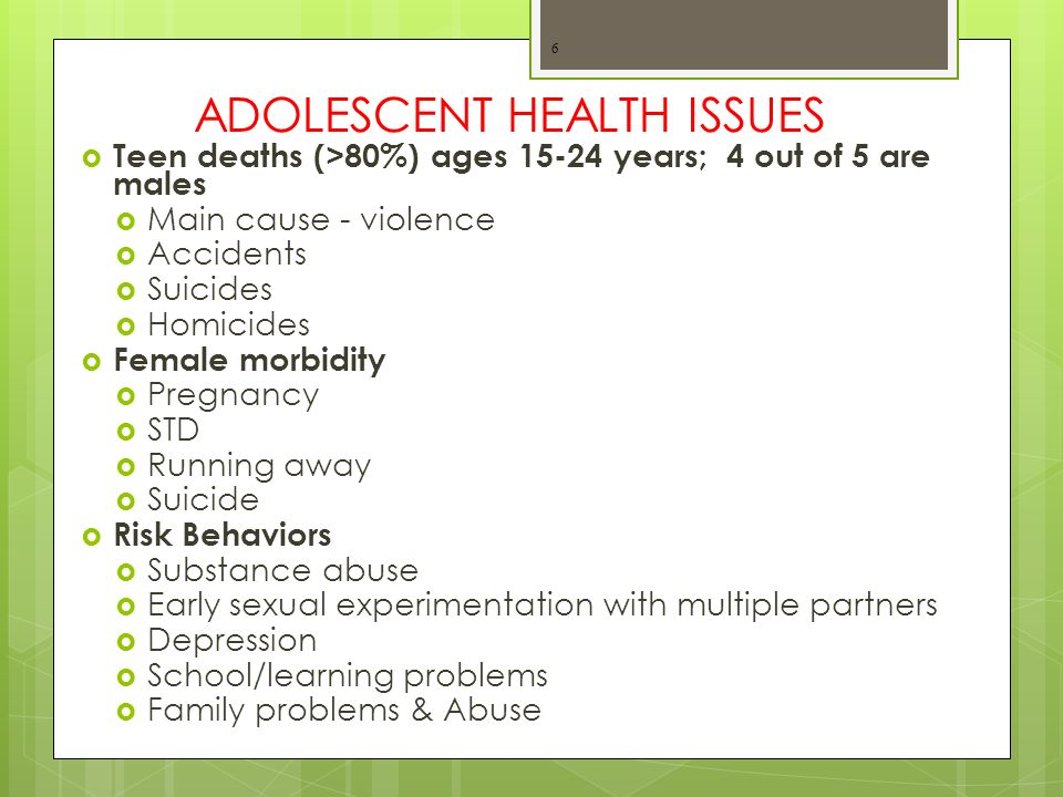 Teen Pregnancy & Health Risks to the Baby
