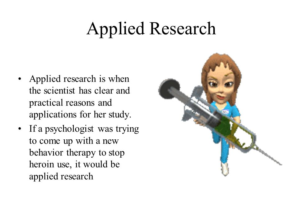 applied research is