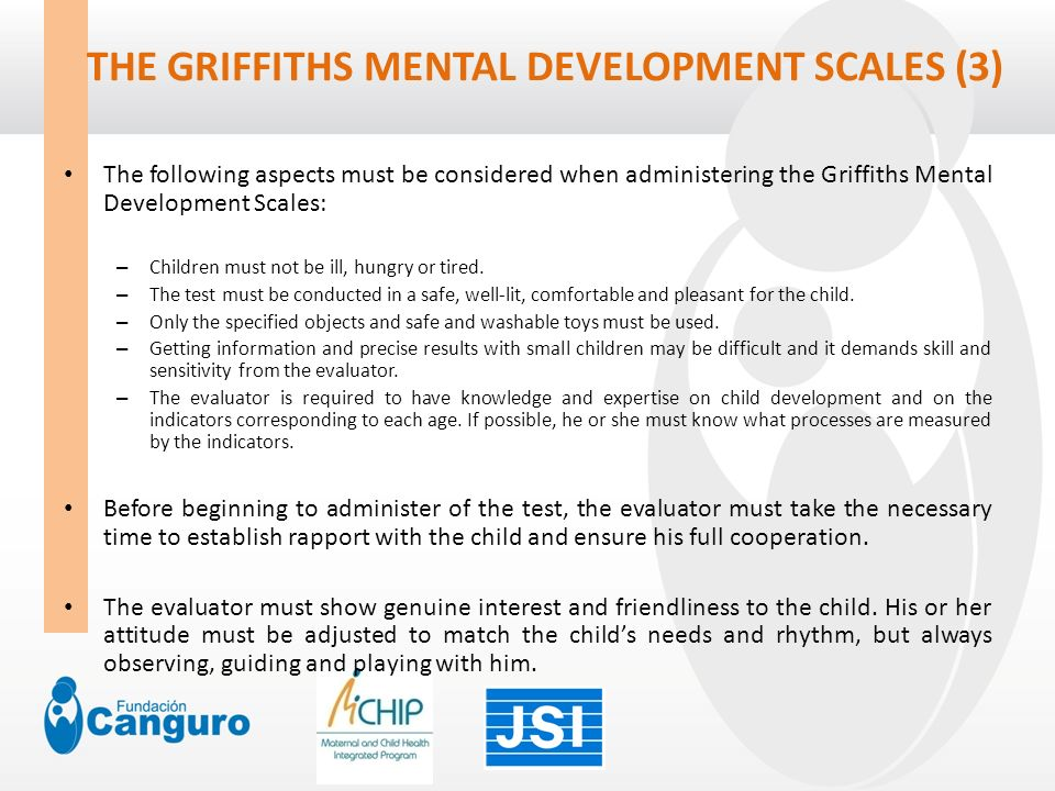 griffiths mental development scales pdf
