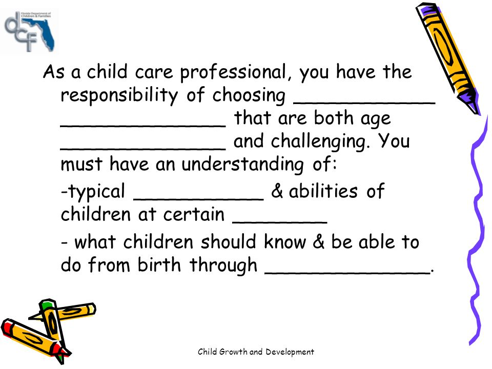 An understanding of parental responsibility and child behaviour