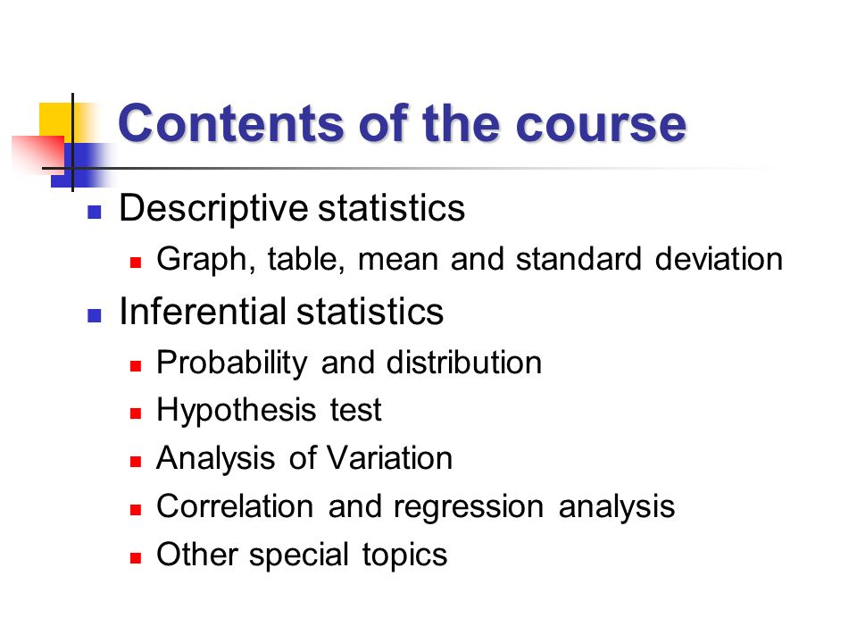 descriptive statistics and probability distribution problem Perhaps the most common data analysis tool that you'll use in excel is the one for calculating descriptive statistics to see how  the data set's distribution.
