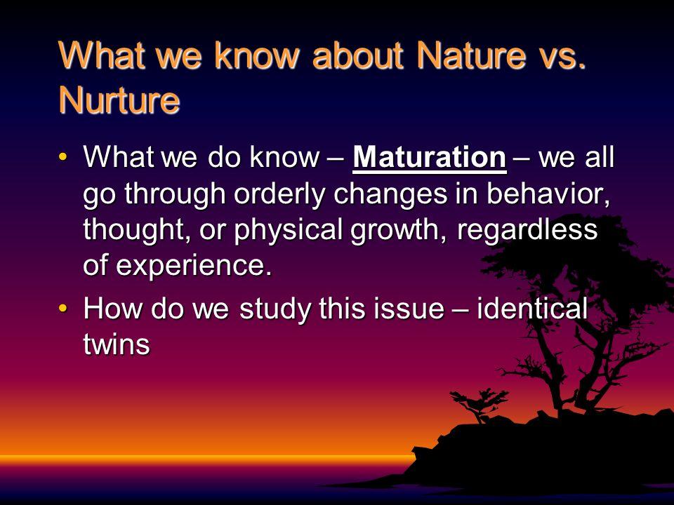 Nature Vs Nurture Study Of Identical Twins