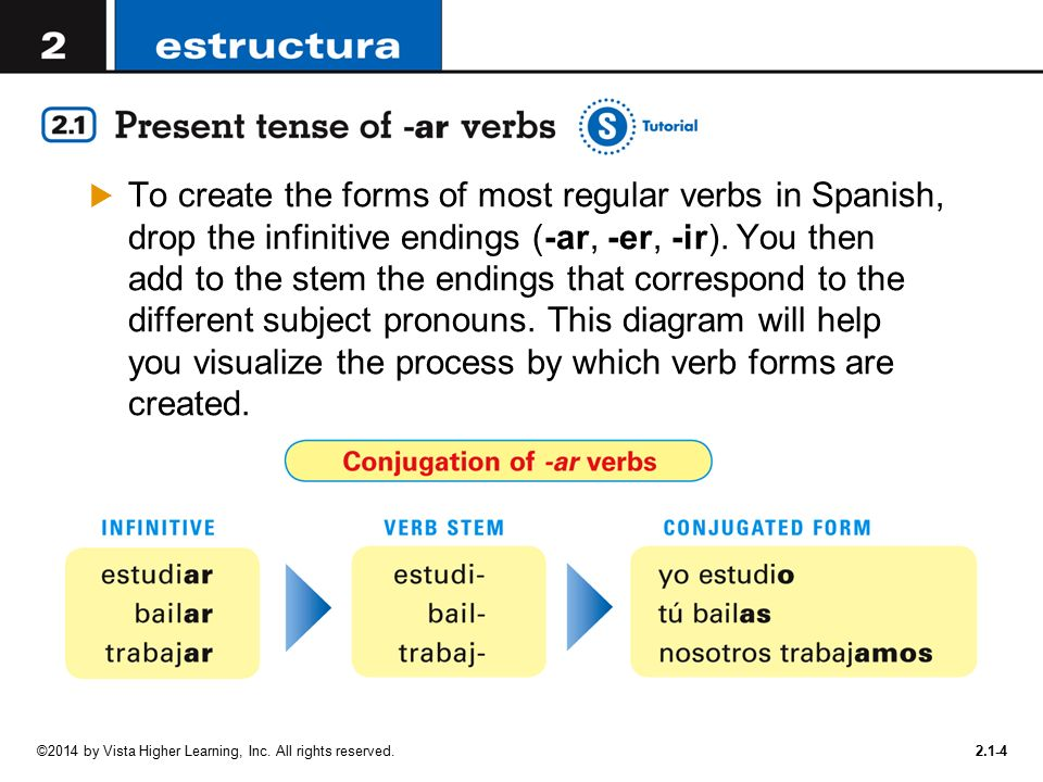 In order to talk about activities, you need to use verbs - ppt ...