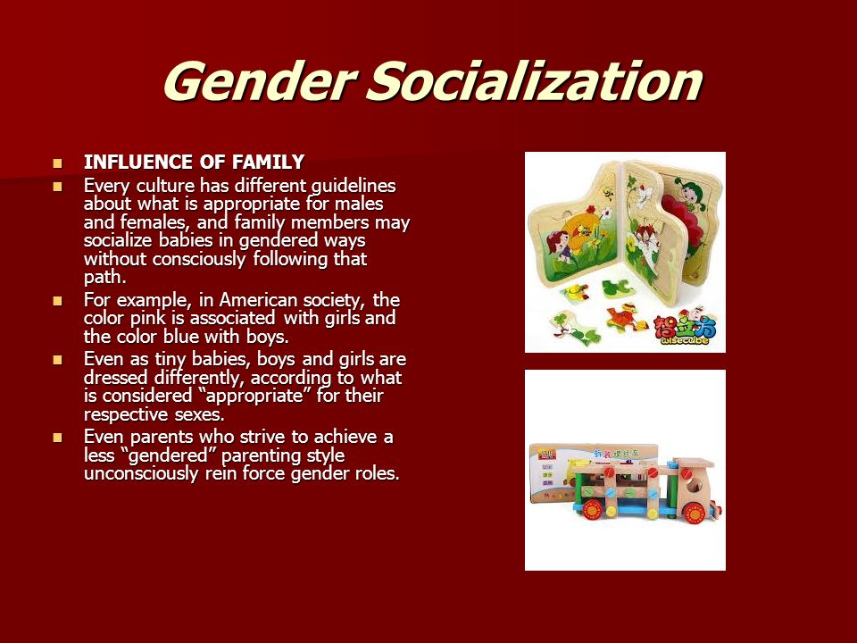 the role of family in educating socializing One of the most dramatic impacts on a child's education is that of the  your  family provides your kid's first lesson in socialization stated  socialization  process, teachers, parents and other adult role models play a vital role.