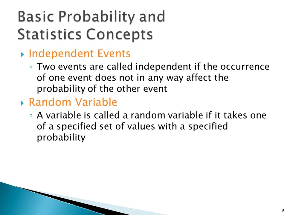 probability and statistics Calculation and chance most experimental searches for paranormal phenomena are statistical in nature a subject repeatedly attempts a task with a known probability of success due to chance, then the number of actual successes is compared to.