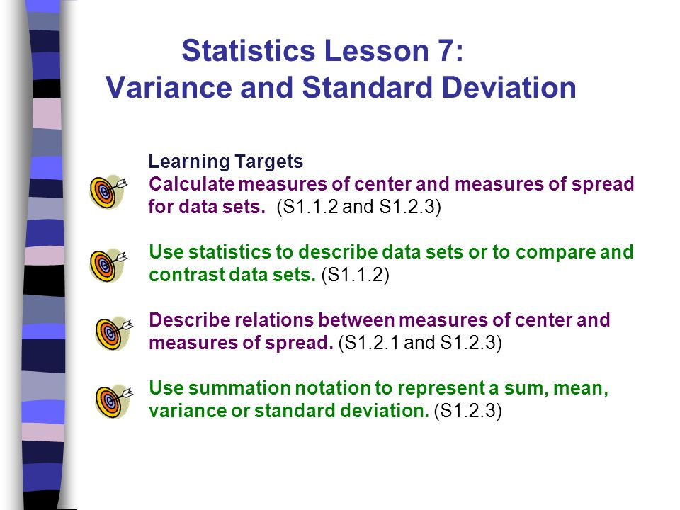 Lesson 1 collecting data ppt video online download statistics lesson 7 variance and standard deviation learning targets ccuart Images