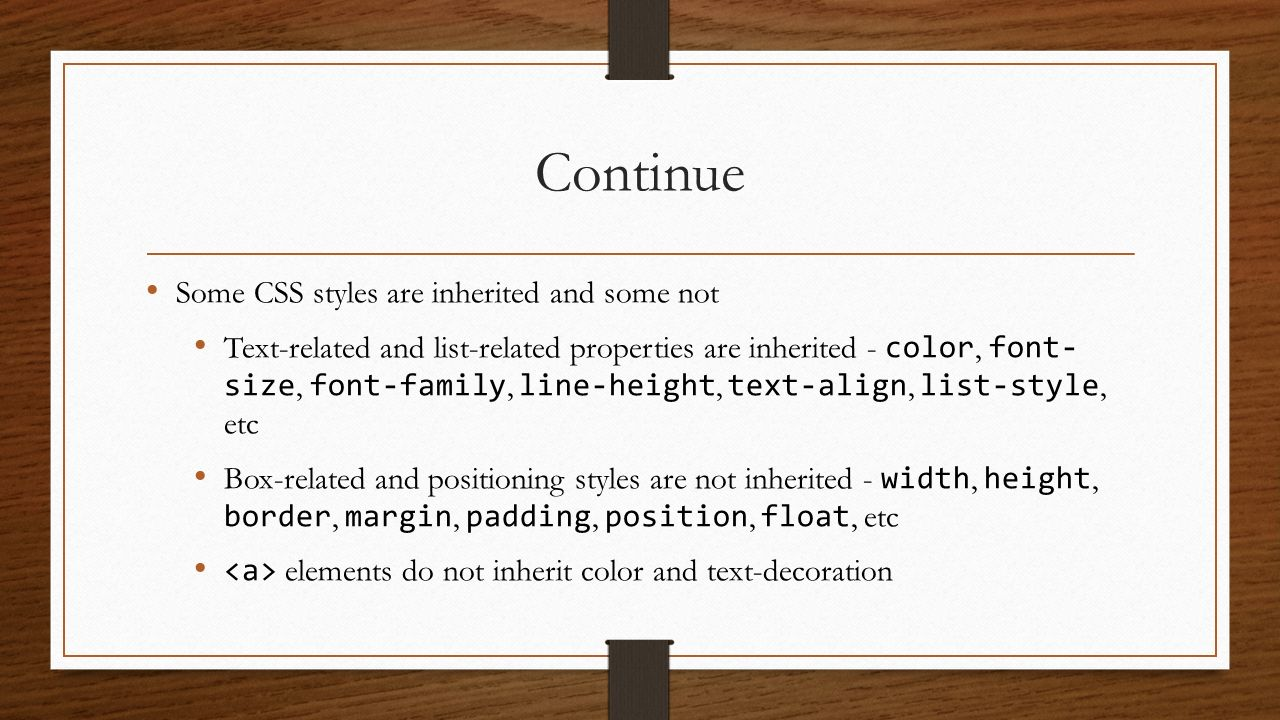 Css dvijesh bhatt ppt video online download for Table th td border 1px solid black