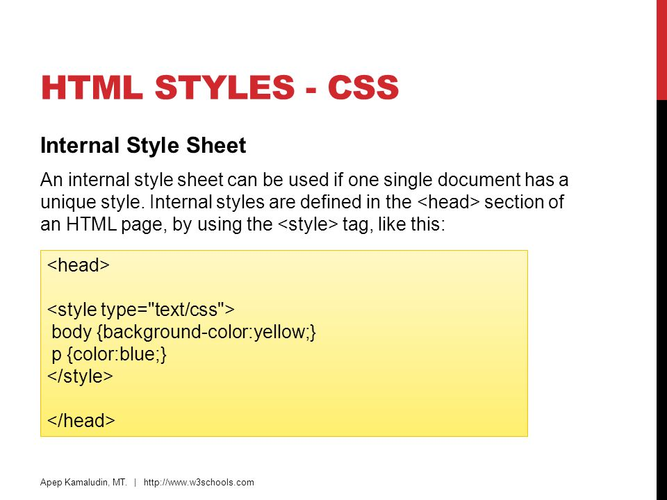 html and css w3schools pdf