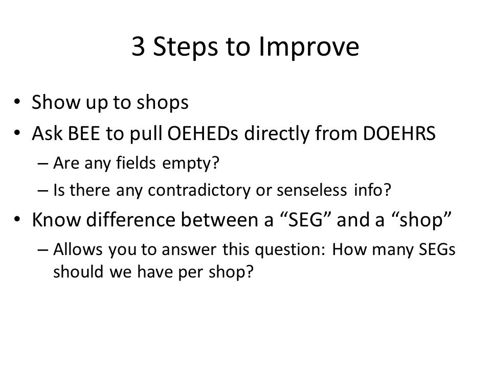 3 Steps to Improve Show up to shops