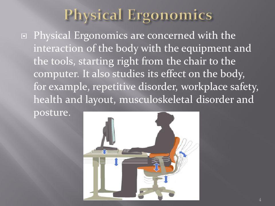 Ergonomics And Ergonomic Designs Ppt Video Online Download