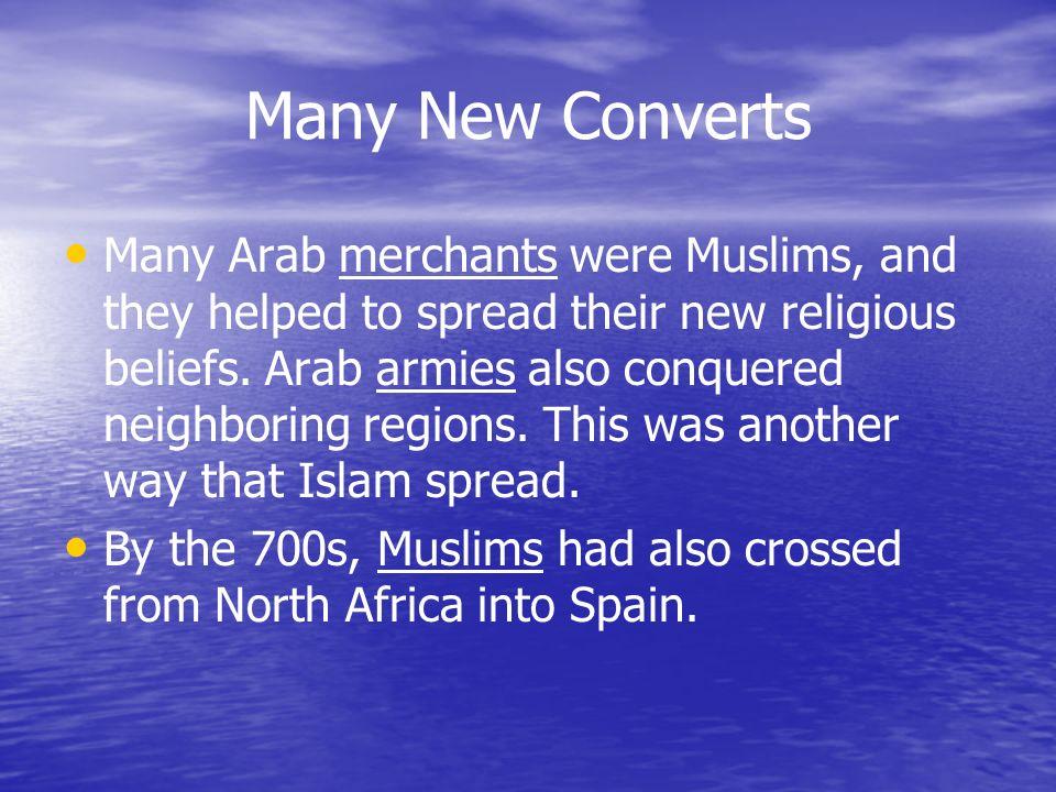 Many New Converts