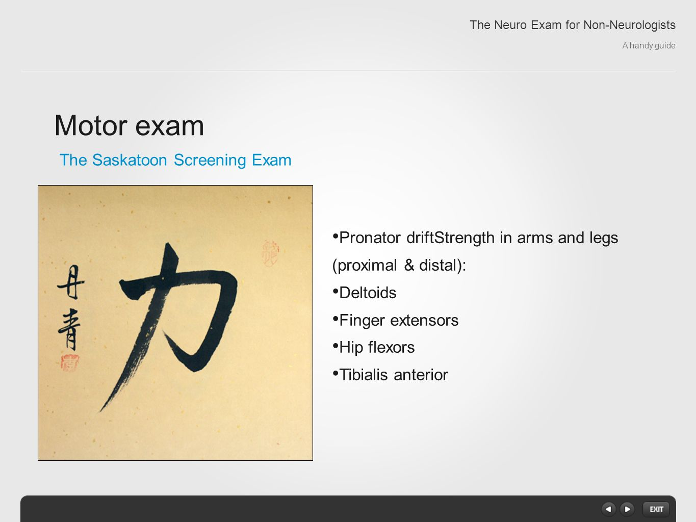 The Neuro Exam For Non Neurologists A Handy Guide Ppt